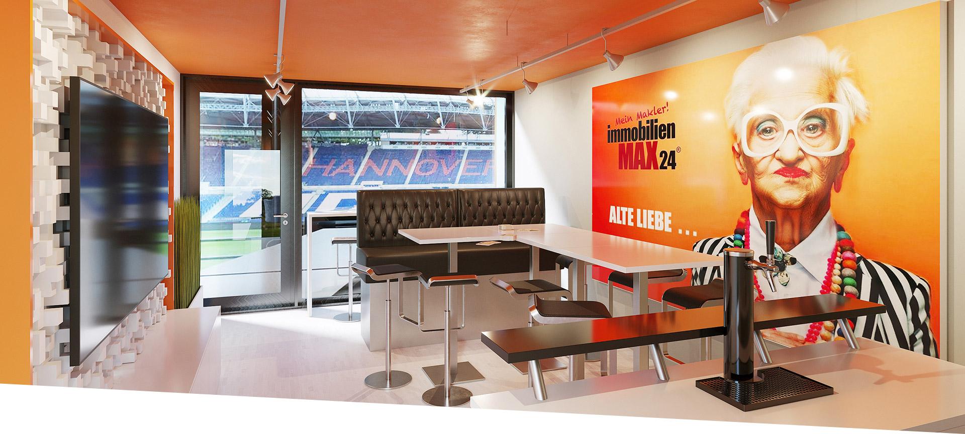 Hannover 96 Loge - Partnerschaft